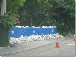 Bangkok Flood Preparations with Photos