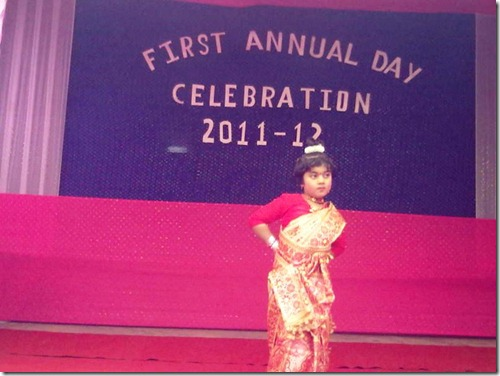 54 child performing bihu