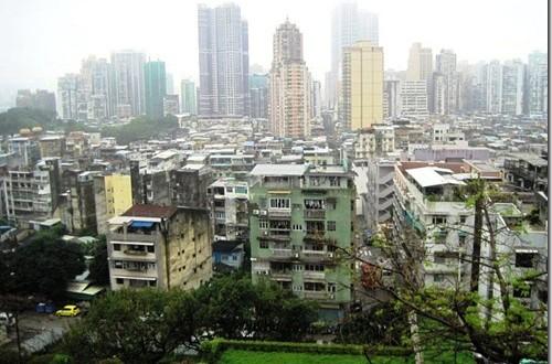 A Skyline View of Macau (Video)