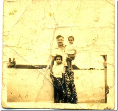 my father dr.borthakur,me and my bro