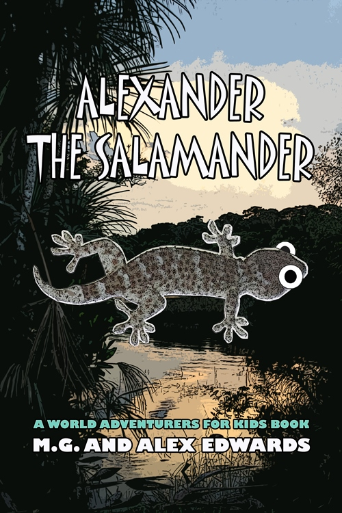 Buy Alexander the Salamander on Amazon!