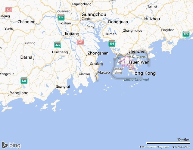 Macau Map