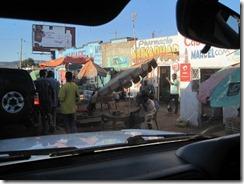Crossing into the Democratic Republic of the Congo