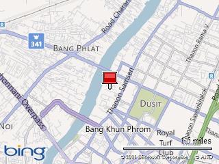 Bangkok Flooding: Video of Chana Songkhram (Bangkok Waterfront)