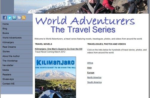 Introducing World Adventurers–The Travel Series