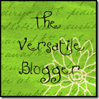 I Received the Versatile Blogger Award!