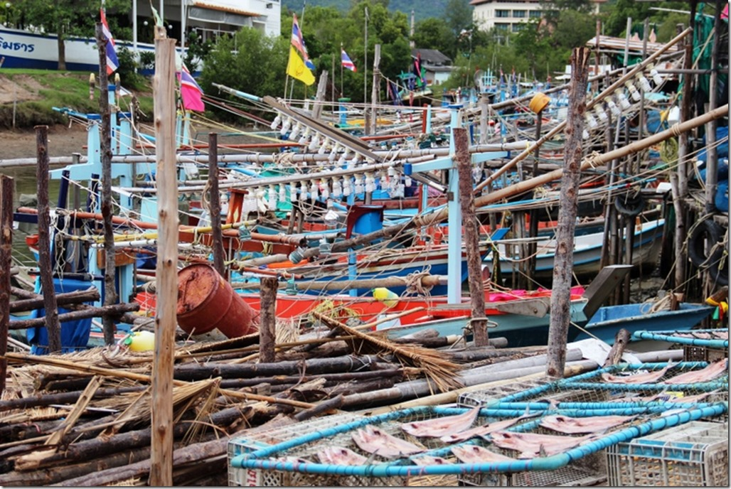2012_09_16 Thailand Hua Hin Fishing Village (9)