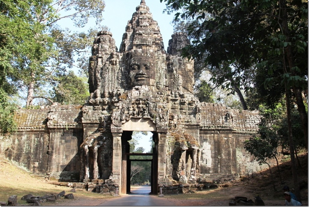 2012_12_26 Cambodia Angkor Thom Gate