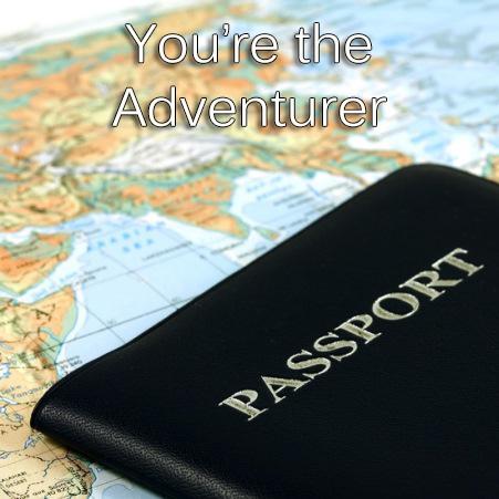 You're the Adventurer